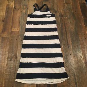 GAP Boat Striped Racerback Tank dress w Sequins